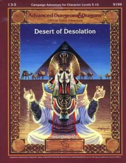 Aventura - Deserto da Desolação (capa)
