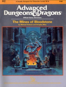 Aventura - The Mines of Bloodstone (capa)