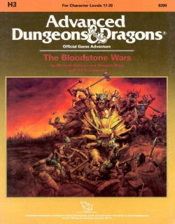 Aventura - The Bloodstone Wars (capa)