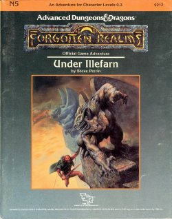 Aventura - Under Illefarn (capa)