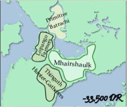Início do Império Batrachi e Resquícios do Império Sarrukh - 33.500 CV