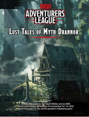 Lost Tales of Myth Drannor (capa)