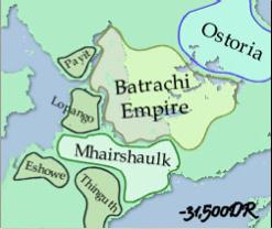 O Império Batrachi cerca de -31500 CV