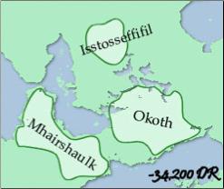 O Império Sarrukh cerca de -34200 CV