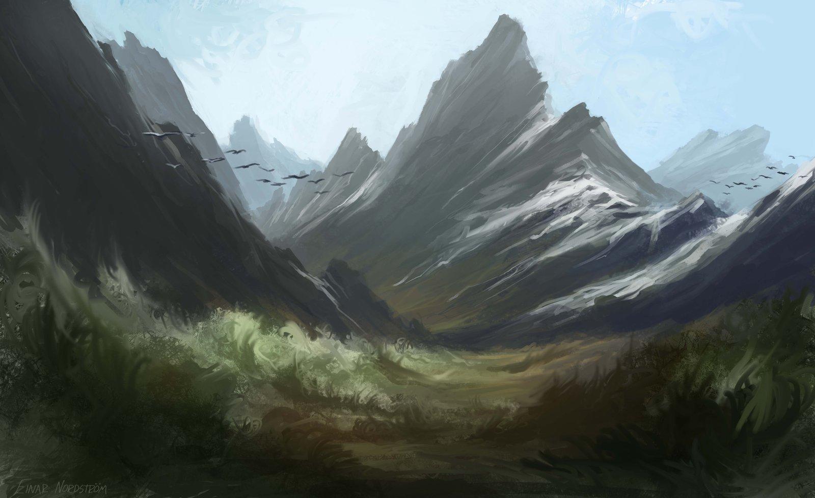 Snowy Mountains - Einar Nordstrom