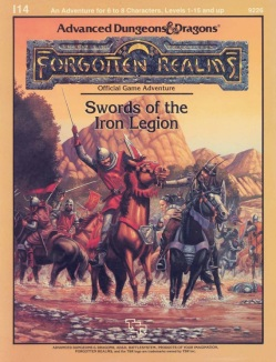 Swords of the Iron Legion (capa)