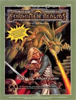 Aventura - Ruins of Adventure (capa)