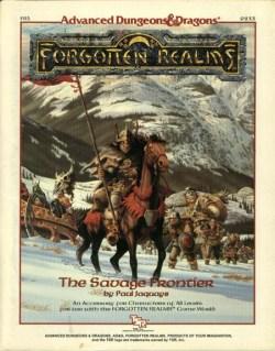 Acessórios - The Savage Frontier (capa)