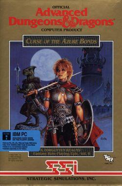 Jogos - Curse of the Azure Bonds (capa)